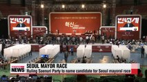 Ruling party picks Seoul mayoral candidate