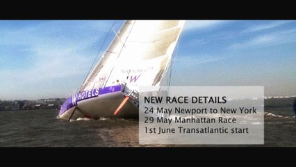 The New York to Barcelona race 2014 Teaser