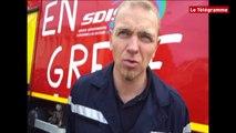 Morbihan. Les sapeurs-pompiers en grève
