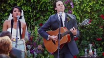 Bride And Groom Perform Their Wedding Vows As Song