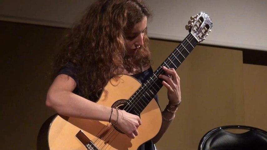 Conservatoire du XXe, classe de guitare de Daphné Boudouris