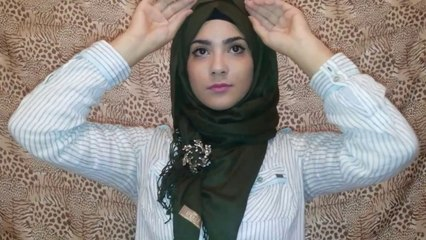 Hijab Tutorial _ 3 ways to wear a brooch