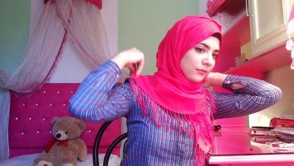 Tassel hijab tutorial ♡