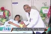 Maternidad de Lima registró 15 partos en el 'Día de la Madre'