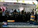 Legalizan a grupos de autodefensas en Michoacán, México