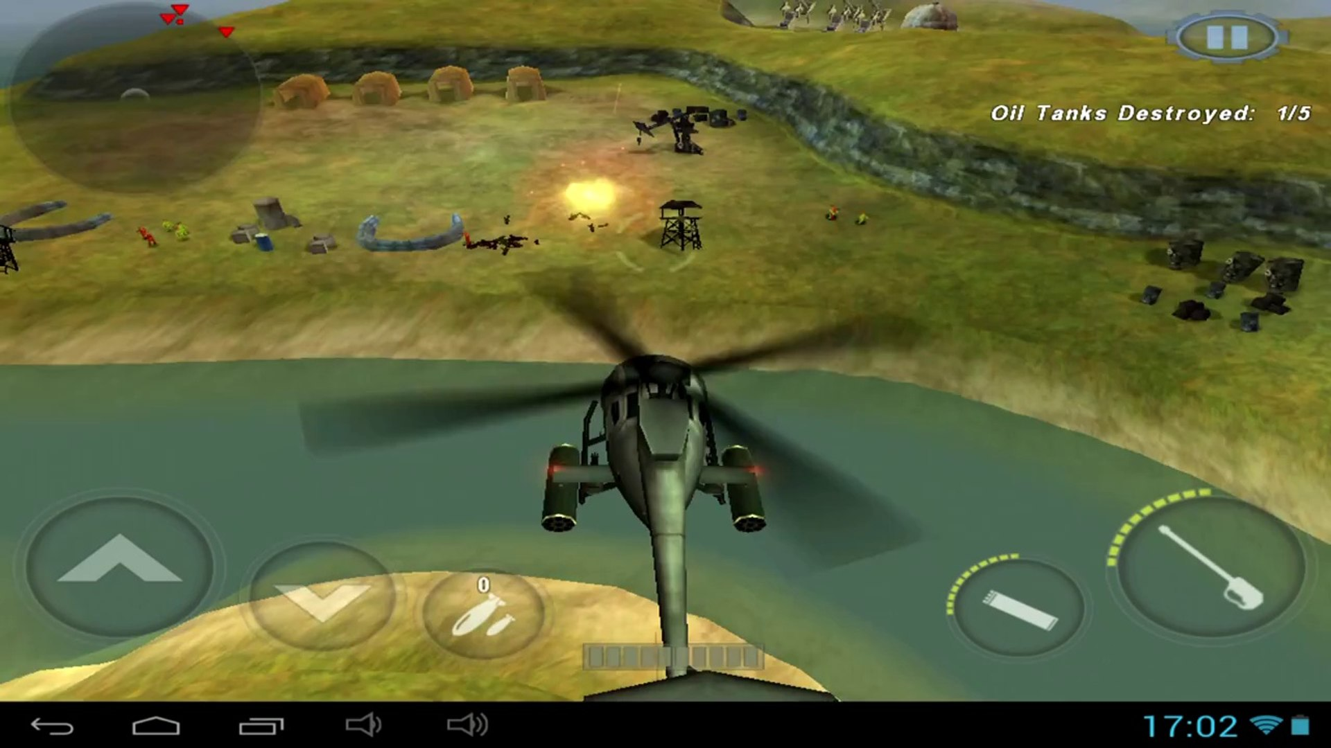 GUNSHIP BATTLE Helicopter 3D - Android gameplay PlayRawNow - video  dailymotion