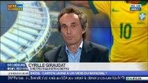 Brésil: faut-il adresser un carton jaune à un mois du Mondial ?, dans Les Décodeurs de l'éco - 12/05 4/5