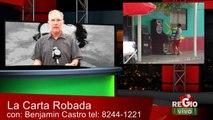 LA CARTA ROBADA 12 DE MAYO DEL 2014 ROJAS ES UN ZARITO DE LOS CASINOS,QUIEN DOMINA EL NEGOCIO ES CODERE EMPRESA ESPAÑOLA PARTE DE LA RECONQUISTA JUNTO CON BANCOS Y GASERAS