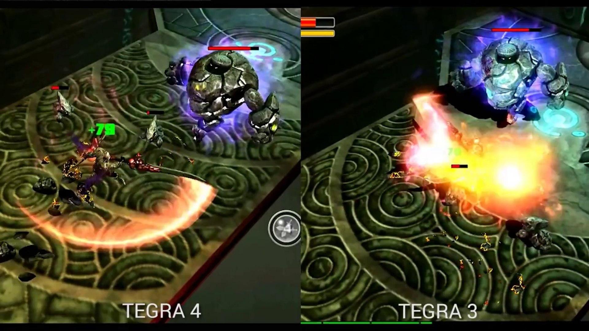 Tegra comparison