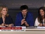 Cannes 2011 - Best of conférence de presse - Les bien-aimés