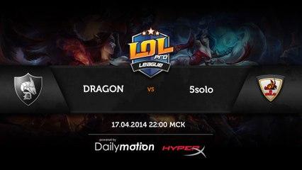 Dragon vs 5 solo game 2 (RU)