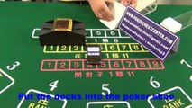 Smart automatic shuffler for baccarat cheating