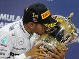 Classements du Grand Prix F1 de Bahrein 2014 - Infographie