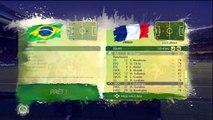 (thegamer) coupe du monde de la fifa Brésil 2014 demie-finale France-Brésil ps3