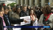 Lycéennes enlevées au Nigeria : défilé de personnalités au Trocadéro