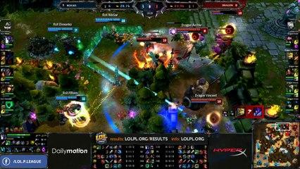 Dragon vs Rox.KiS Semifinals - game 2 (ENG)