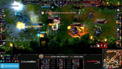 Dragon vs Rox.KiS Semifinals - game 4 (ENG)