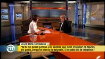 """TV3 - Els Matins - Terricabras: """"S'ha de fer la consulta encara que no hi hagi acord amb Madrid ni"""