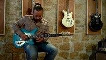 """Essai guitare, modèle """"Happy Days"""" du luthier Eric Muret Guitares"""