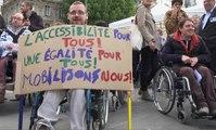 Manifestation des handicapés : «Le manque d'accessibilité est un handicap en plus»