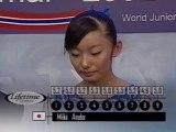 мίκί αиᴅø Junior World Championships SP Lifetime