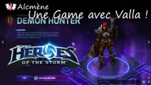 [Alc115] Découverte Heroes - Une Game avec Valla the Demon Hunter ! (Heroes of the Storm Alpha - FR)