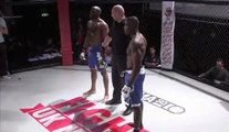 MMA Referee Puts Trained Fighter In The Choke Hold