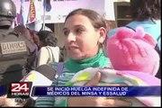 Cientos de pacientes afectados por huelga nacional de médicos del Minsa y Essal
