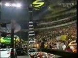 WWE - Jeff Hardy crashes and burns