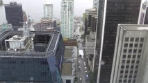 Downtown Vancouver, Canada On May 4, 2014.