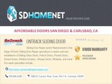 SD Home Net : AFFORDABLE DOORS and SECURITY in SAN DIEGO & CARLSBAD, CA