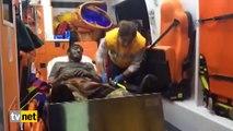 Somalı Madenci  'Çizmelerimi çıkarayım sedye kirlenmesin'