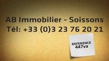 A vendre - appartement - SOISSONS (02200) - 2 pièces - 31m²