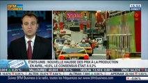 États-Unis: Hausse des prix de production en avril: Sébastien Galy, dans Intégrale Bourse – 14/05