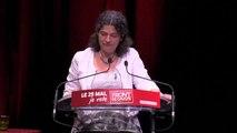 Intervention de Mélanie Tsagouris Candidate sur la liste Front de Gauche-Européennes Est, PCF, PCF