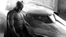 NEW BATMAN Suit & Batmobile PICTURES By ZACK SNYDER