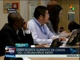 "OMS alerta sobre aumento de casos del ""Coronavirus Mers"""