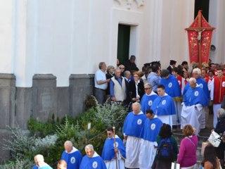 Capri, processione del santo patrono dell' isola San Costanzo 2014
