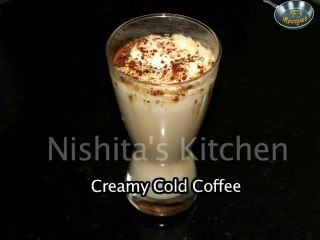 Creamy Cold Coffee