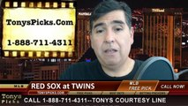 Minnesota Twins vs. Boston Red Sox Pick Prediction MLB Odds Preview 5-15-2014