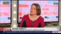 Valérie Rabault, rapporteur général du budget à l'Assemblée nationale, dans Le Grand Journal - 15/05 1/4