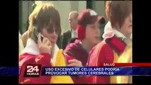 Francia: estudio asegura que uso excesivo uso de celulares produce cáncer