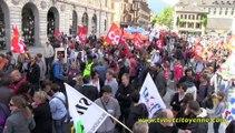 Grève et manifestation des fonctions publiques 15 mai  2014