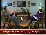 Aaj with Reham Khan 15 MAy 2014 Exclusive Interview With  Imran Khan 15th May 2014