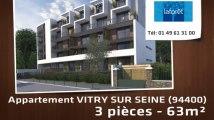 Vente - appartement - VITRY SUR SEINE (94400)  - 63m²