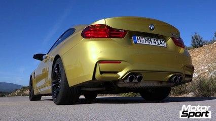 0-200 km/h avec la nouvelle BMW M4