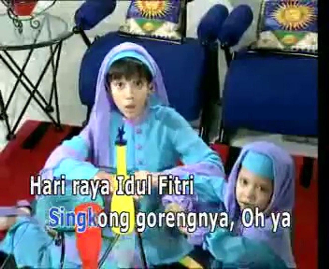 Baju Baru Dhea Ananda Lagu Qasidah Anak Anak Video Dailymotion