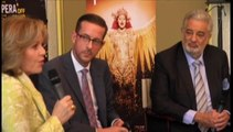 """Placido Domingo estrena """"Thaïs""""  preocupado por la crisis de la ópera en EEUU"""