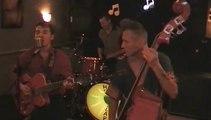 Hot Slap Trio, à la crêperie de la rouge-mare, à Rouen, le 11 mai 2014.