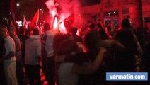 Le RCT en finale de Top 14: joie et fumigènes à Toulon